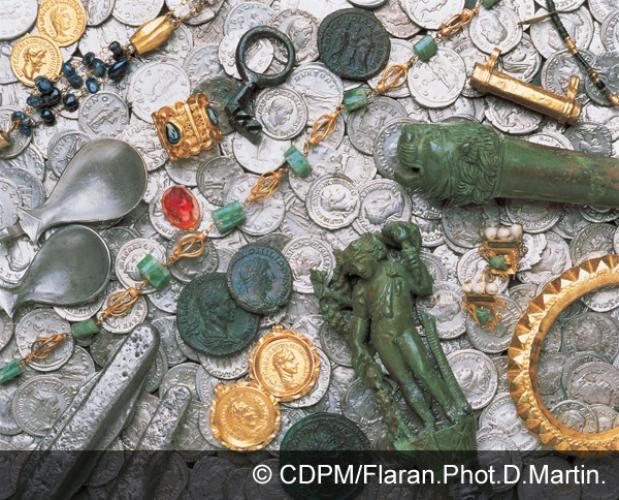 Au Musée archéologique / Le Trésor d'Eauze
