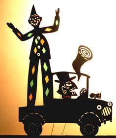 ATELIER – Monsieur carnaval fait de l'ombre !