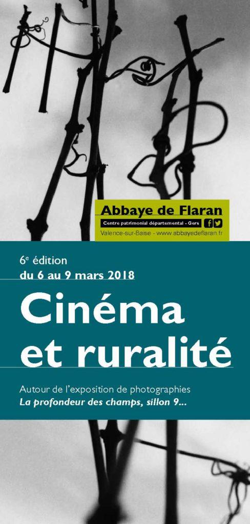 Cinéma et Ruralité du 6 au 9 mars 2018